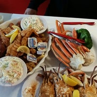Photo taken at Margie and Rays Seafood Restaurant by Tre' on 9/13/2014