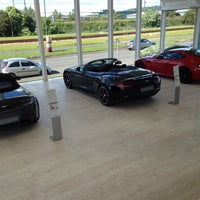 Photo taken at Aston Martin Edinburgh by Derek M. on 6/11/2014