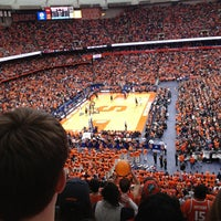 Photo taken at Carrier Dome by Elle R. on 3/2/2013