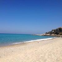 Photo taken at Livadi Beach by Xenia . on 8/28/2014