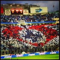 Photo taken at Estadio Azul by Apolo F. on 5/20/2013