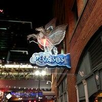 Photo taken at Pegasus Taverna by Brian U. on 12/24/2012