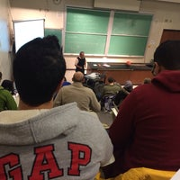 Photo taken at UWM Physics Building by Abdullah J. on 1/31/2014