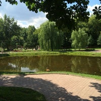 Photo taken at Ротонда в Екатеринском Парке (южная) by Даша П. on 7/7/2014