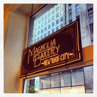 Photo taken at Magnolia Bakery by Daniel T. on 5/27/2013