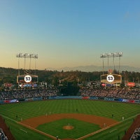 Photo taken at Dodger Stadium by Melissa L. on 6/9/2013