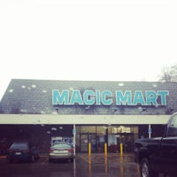 Photo taken at Magic Mart by laura m. on 12/29/2013