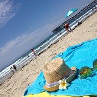 Das Foto wurde bei Pacific Beach von Déa E. am 7/29/2014 aufgenommen