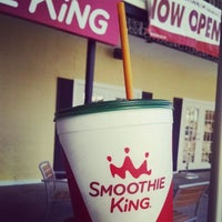 Photo taken at Smoothie King by Steven S. on 7/28/2014
