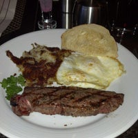 Photo taken at ENVY The Steakhouse by Yolanda A. on 1/31/2013