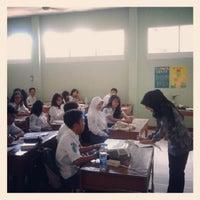 Photo taken at SMA Negeri 11 Bandung by Masamu K. on 2/28/2013