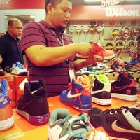 Photo taken at The Sports Warehouse by Mary A. on 2/27/2014