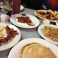 Photo taken at Landmark Diner by Kim C. on 2/16/2013