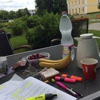 Photo taken at Debreceni Egyetem Kassai Campus by Jinna💕 on 5/29/2014