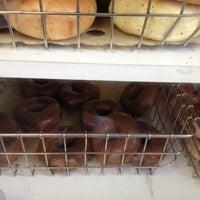Photo taken at Katz Bagel Bakery by Jason L. on 1/25/2014