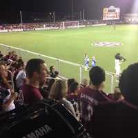 Photo taken at Ellis Field - Aggie Soccer Stadium by Michael G. on 10/12/2013