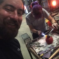 Photo taken at Ignite Glass Studios by Stephen O. on 10/3/2015