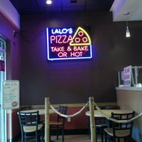 Photo taken at Lalo's Pizza by Birch on 10/21/2012