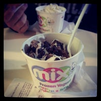 Photo taken at Mix Frozen Yogurt by Christopher O. on 11/24/2013