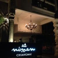 Photo taken at โรงแรม แอท นิมมาน (@niman, At Niman Chiangmai) by pingping on 4/18/2013
