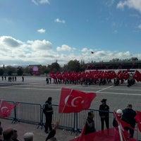 Photo taken at Ankara Eski Hipodrum/AKM by Hsyn G. on 10/29/2015