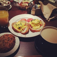 Photo taken at la Madeleine Country French Café by George J. on 12/30/2012