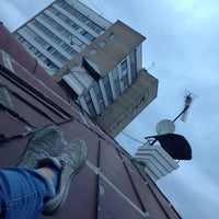 Photo taken at Совкомбанк by Kate A. on 4/14/2014