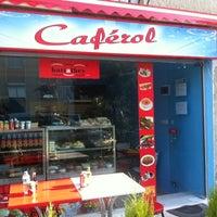 Photo taken at Caférol by TC Erol K. on 3/21/2014