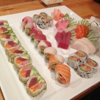 Photo taken at Vic Sushi Bar by Maryanne Z. on 11/13/2012