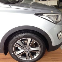 Photo taken at Hyundai by Adrian G. on 12/1/2014