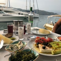 6/26/2018 tarihinde Yusuf A.ziyaretçi tarafından Fethiye Yengeç Restaurant'de çekilen fotoğraf