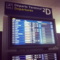 Photo taken at Terminal 2D by Pavel P. on 5/6/2013