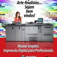 Photo taken at Master Graphic Impressos Rápidos by Valberto M. on 1/27/2014