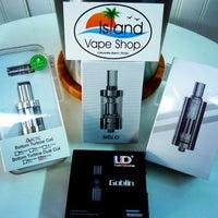 Photo taken at Island Vape Shop, Electronic Cigarette, E-Cig Store by Island V. on 2/22/2015