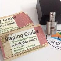 Photo taken at Island Vape Shop, Electronic Cigarette, E-Cig Store by Island V. on 10/11/2014