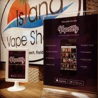 Photo taken at Island Vape Shop, Electronic Cigarette, E-Cig Store by Island V. on 10/2/2014