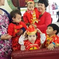 Photo taken at ศาลเจ้าแม่ทับทิม by Cho C. on 1/30/2014