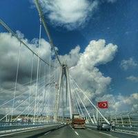 8/27/2016 tarihinde Tugba A.ziyaretçi tarafından Yavuz Sultan Selim Köprüsü'de çekilen fotoğraf