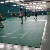 Photo taken at Penang Badminton Academy by Yubie T. on 8/4/2014