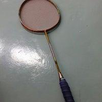 Photo taken at Penang Badminton Academy by Yubie T. on 8/25/2014