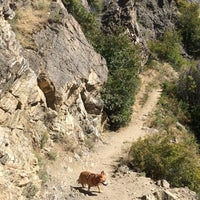 Photo taken at Sypes Canyon Trail Head by Chris L. on 9/7/2014