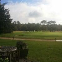 Photo taken at Hilversumsche Golfclub by Patrick K. on 10/4/2012