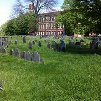 Photo taken at Copp's Hill Burying Ground by Darren W. on 5/13/2013