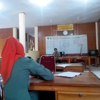 Photo taken at SMKN 2 Barru, by Ahmad I. on 5/11/2014
