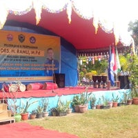 Photo taken at SMKN 2 Barru, by Ahmad I. on 4/3/2014