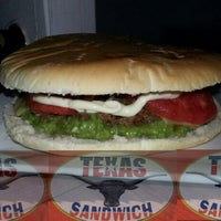 Photo taken at TEXAS Sadwich by Gonzalo L. on 1/28/2014