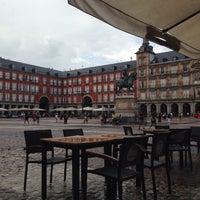 Снимок сделан в Plaza Mayor De El Poble Espanyol пользователем Ibrahim I. 8/29/2017