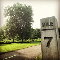 Photo taken at Tow Path Mile Marker 7 by Chad M. on 6/21/2013