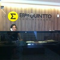 Foto tirada no(a) EBMQuintto por Claudia M. em 12/12/2013
