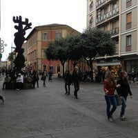 Photo taken at Piazza Tacito by Settesoffici s. on 4/20/2013